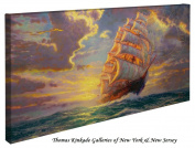 Courageous Voyage - Thomas Kinkade Seascapes 41cm x 80cm Gallery Wrapped Canvas