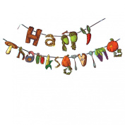 Happy Thanksgiving Banner Party Decoration