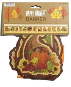 Thanksgiving Banner Decor 2.1m Give Thanks