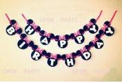 iBUY365 Happy Birthday Banner - Birthday Decorations - Premium Quality Birthday Banner - Party Decorations Birthday Kids