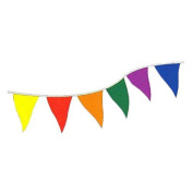 Tinksky Bunting Banners with Triangle Flags for Party Decoration-100pcs