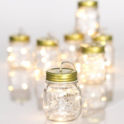 2.3m Mason Jar String Light Garland