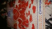 1983 Hallmark Valentine Hearts Centrepiece Decoration 29cm NIP Happy Val Day