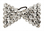 Catherine Lillywhite GC1220BO Bow Rhinestone Hair Pin