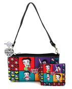 Betty Boop Small Bag and Wallet Set, Plus Key Chain