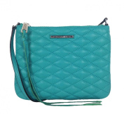 Rebecca Minkoff Love Kerry Quilted Leather Crossbody, Peacock