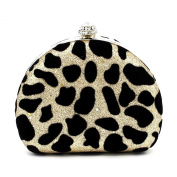 Kingluck Leopard Design Leatherette Wedding Special Occasion Clutches