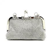 Kingluck Rhinestones Wedding/Special Occasion Top Handle Bags/Evening Handbags