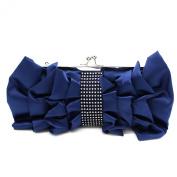 Kingluck Women Big Bowknot Elegance Satin Clutch Bag Hot Sale Lady Satin Evening Bag