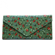 Blackgoose Women's Trifold Floral Printed Leather Wallet