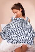 ReperKid Nursing Cover with Front Pocket - Perfectly Sized Baby Breastfeeding Cover-Ups for Privacy (70cm x 90cm ) - Premium Cotton - Breathable & Durable - Multifunctional Design - Machine Washable