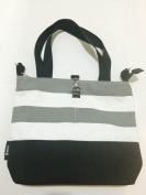 Baby Nappy Tote Bag in Stripes by d.o.t