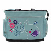Niyatree Portable Baby Bag Cute Cartoon Multifunction Nappy Bag-Blue