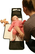Portable Changing Pad for Baby- Large Changing Mat, Easy Clean Waterproof Surface, Foldable and Compact!