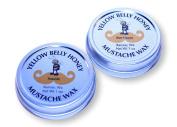 Yellow Belly Honey Seaside and Bee Happy Moustache Wax Bundle, 60ml