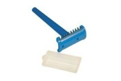 DUKAL Corporation PR01 Prep Razor, Blue Handle, Plastic guard