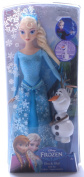 Disney Frozen Sparkle Princess Elsa and Olaf Doll Gift Set Multi-Coloured