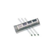 Test Stips, Chlorine, 10to 200 PPM, Pk 200