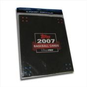 Ultra Pro 2007 Topps Baseball 9 Pocket Portfolio With Cards