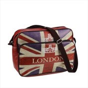 NorthLight 37cm . Decorative British Flag London Bag & Purse With Strap