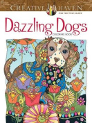 Creative Haven Dazzling Dogs Coloring Book