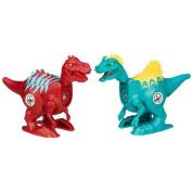Jurassic World Brawlasaurs Carnotaurus vs. Ostafrikasaurus Figure Pack