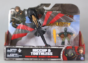 DreamWorks Dragons Dragon Riders Figures, Hiccup and Toothless
