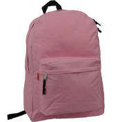Harvest LM183 Pink 46cm . Simple Backpack School Bag Day Pack & Book Bag