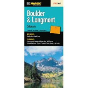 Universal Map 10738 Boulder And Longmont CO Fold Map