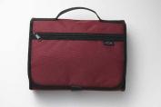Zondervan Gifts 570264 Bi Cover Tri Fold Organiser Xlg Cranberry