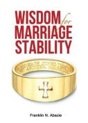 Wisdom for Marriage Stabilty