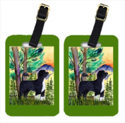 Carolines Treasures SS8429BT Portuguese Water Dog Luggage Tags - Pair Of 2