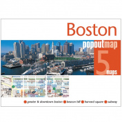 Universal Map 27164 Boston Popout Map