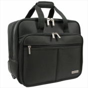 Overland Travelware GB4003 Black Rolling Laptop Case