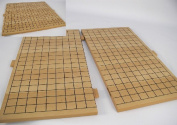 WWI 22812 18-1/2 Slotted Wood Go Board