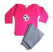 Loralin Design GFS3 Soccer Outfit - Fuchsia 3-6 Months