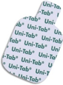 Uni-Tab 7020 Uni - Patch Uni - Tab 3.2cm . X 3.8cm . Sq. Tab Connect Foam Top Reusable Electrodes 48