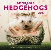 Adorable Hedgehogs Mini 2017