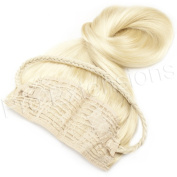 Brybelly Holdings PRBT-20-613 No.613 Platinum Blonde - 50cm Braided Tiara