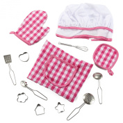 Deluxe Chef Kitchen Accessory Roleplay Costume Set - 13 Piece