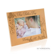 Kate Posh - First Father's Day Wood Picture Frame