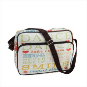 NorthLight 37cm . Decorative Inspirational Words Design Bag & Purse With Strap