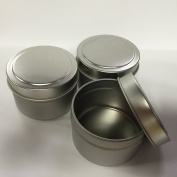 Candlewic Medium Candle Tin (180ml), 12 Pieces with Lids