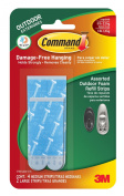 Command Outdoor Medium and Large Foam Strip Refills, 6-Strips, 4-Pack