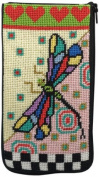 Eyeglass Case - Dragonfly - Needlepoint Kit