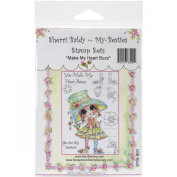 My-Besties Clear Stamps Set 10cm x 15cm -You Make My Heart Buzz