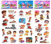3 Sheets Puffy Dimensional Scrapbooking Party Stickers-FREE USA SHIPPING - PAW PATROL