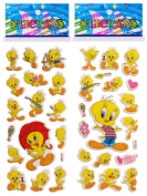 3 Sheets Puffy Dimensional Scrapbooking Party Stickers-FREE USA SHIPPING - TWEETY BIRD