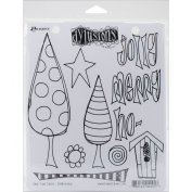 Ranger Dyan Reaveley's Dylusions Cling Stamp Collections, 22cm by 18cm , One Two Three