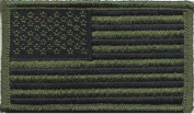 Olive Drab Subdued US Flag Patch